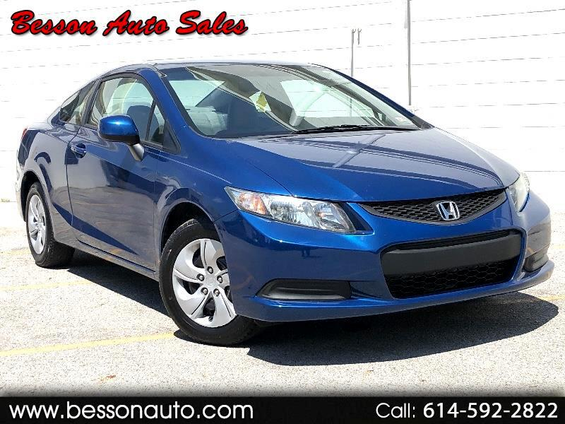 Honda Civic LX coupe 2013