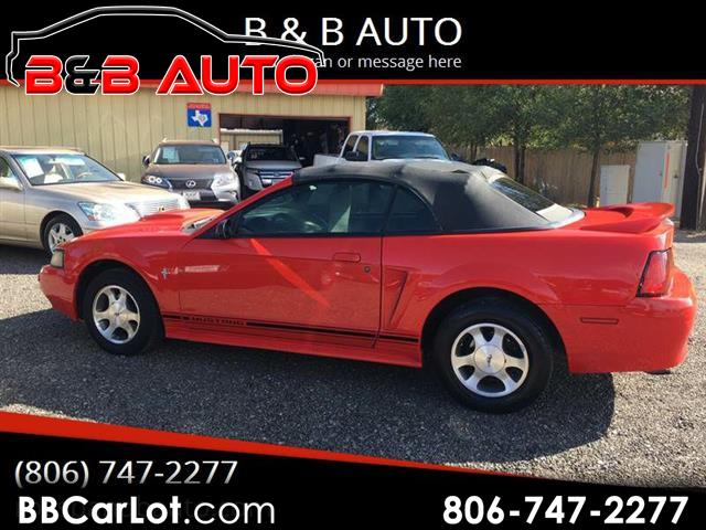 2000 Ford Mustang 2dr Conv