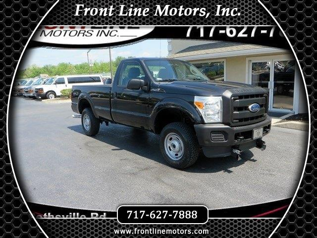 "2011 Ford Super Duty F-250 SRW 4WD Reg Cab 137"" XL"