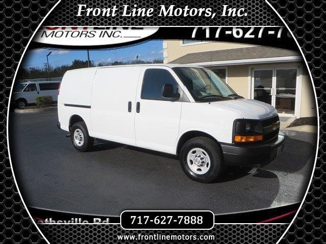 """2012 Chevrolet Express Cargo Van RWD 3500 135"""""""