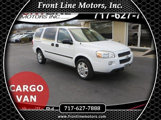 "2008 Chevrolet Uplander Cargo Van 121"" WB"