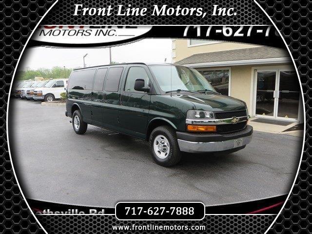 "2011 Chevrolet Express Passenger RWD 3500 155"" 1LT"