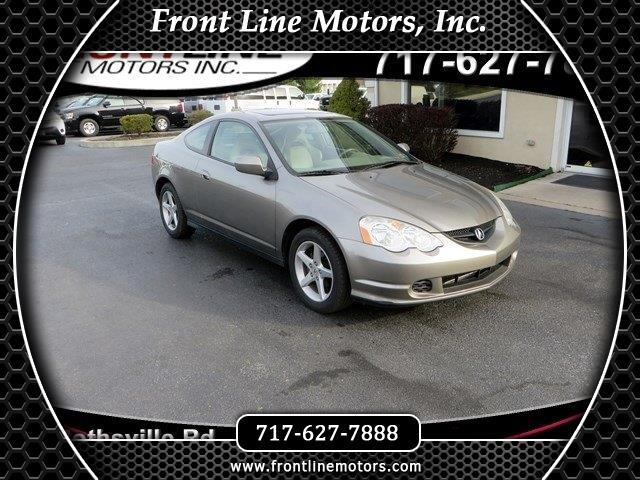2002 Acura RSX 3dr Sport Cpe Manual