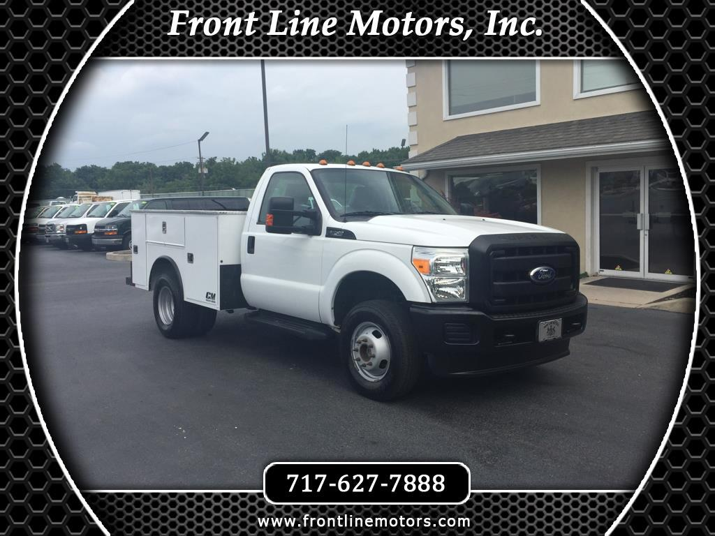"2011 Ford Super Duty F-350 DRW 4WD Reg Cab 137"" XL"