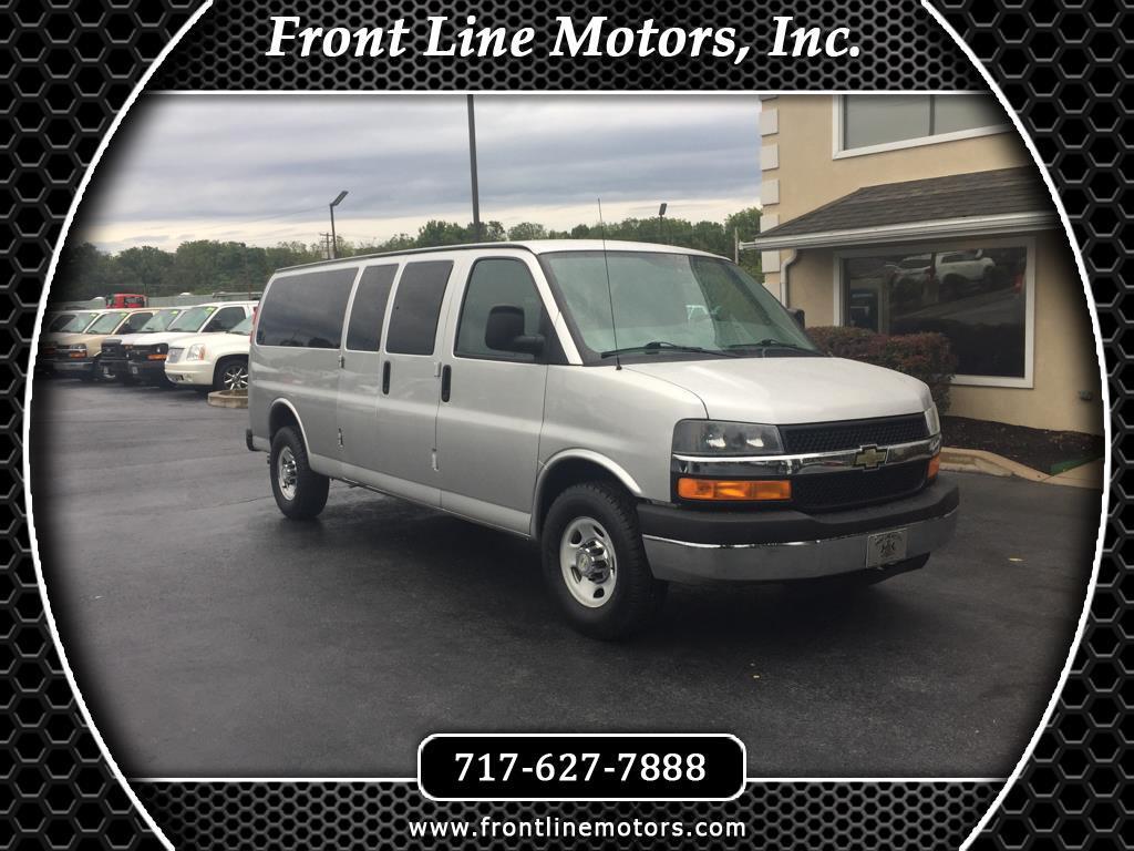 "2012 Chevrolet Express Passenger RWD 3500 155"" 1LT"