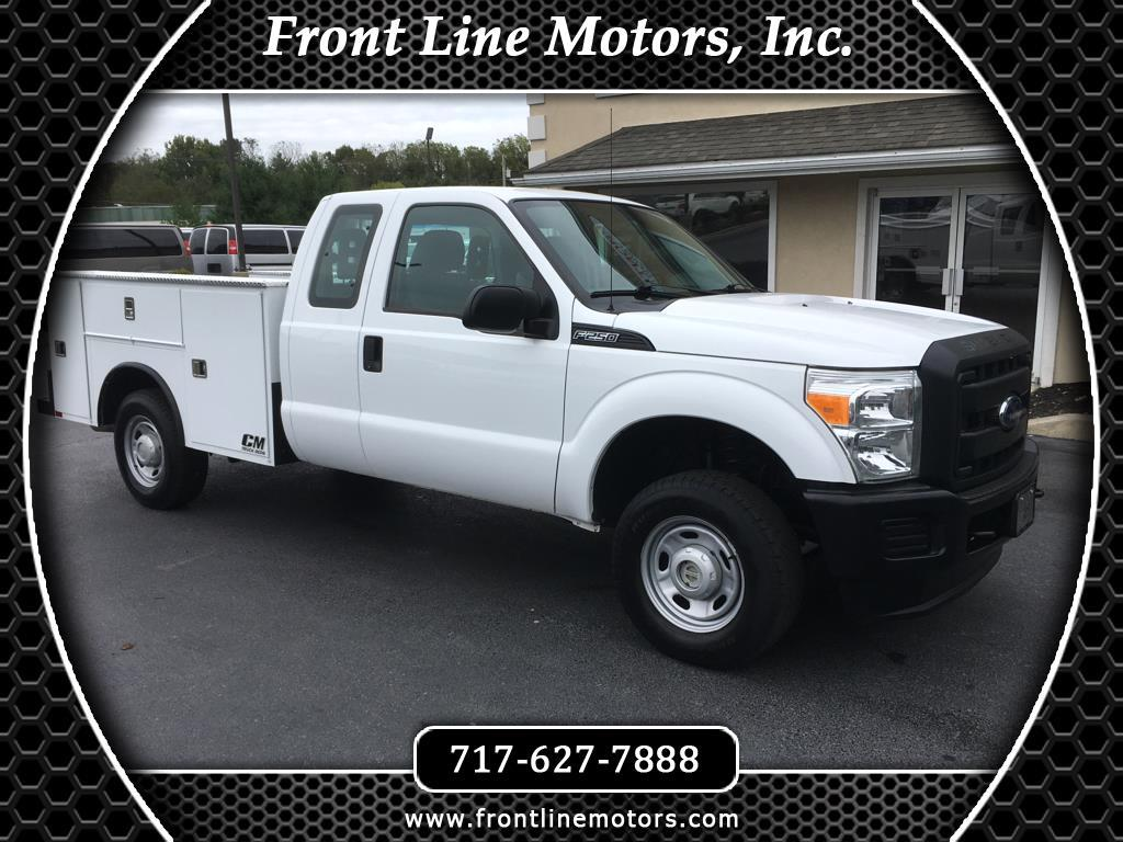 "2013 Ford Super Duty F-250 SRW 4WD SuperCab 142"" XL"