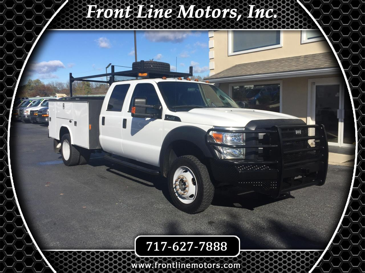 "2014 Ford Super Duty F-450 DRW 4WD Crew Cab 176"" WB 60"" CA XL"