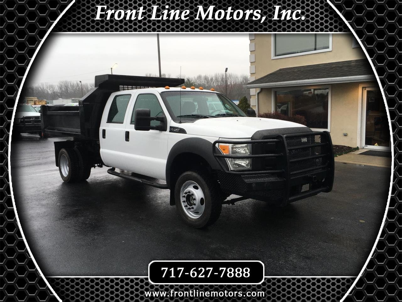"2011 Ford Super Duty F-450 DRW 4WD Crew Cab 172"" XL"
