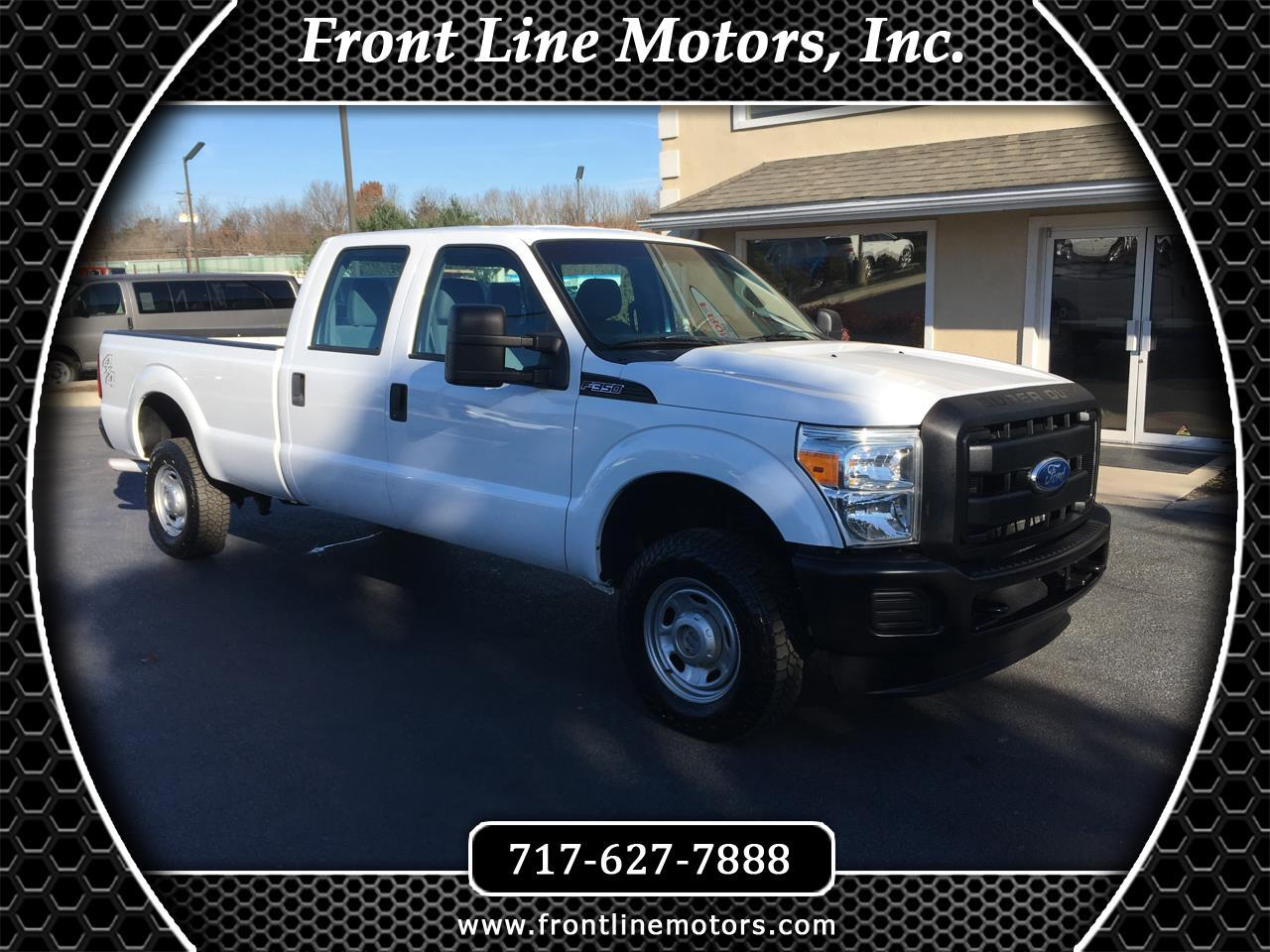 "2011 Ford Super Duty F-350 SRW 4WD Crew Cab 172"" XL"