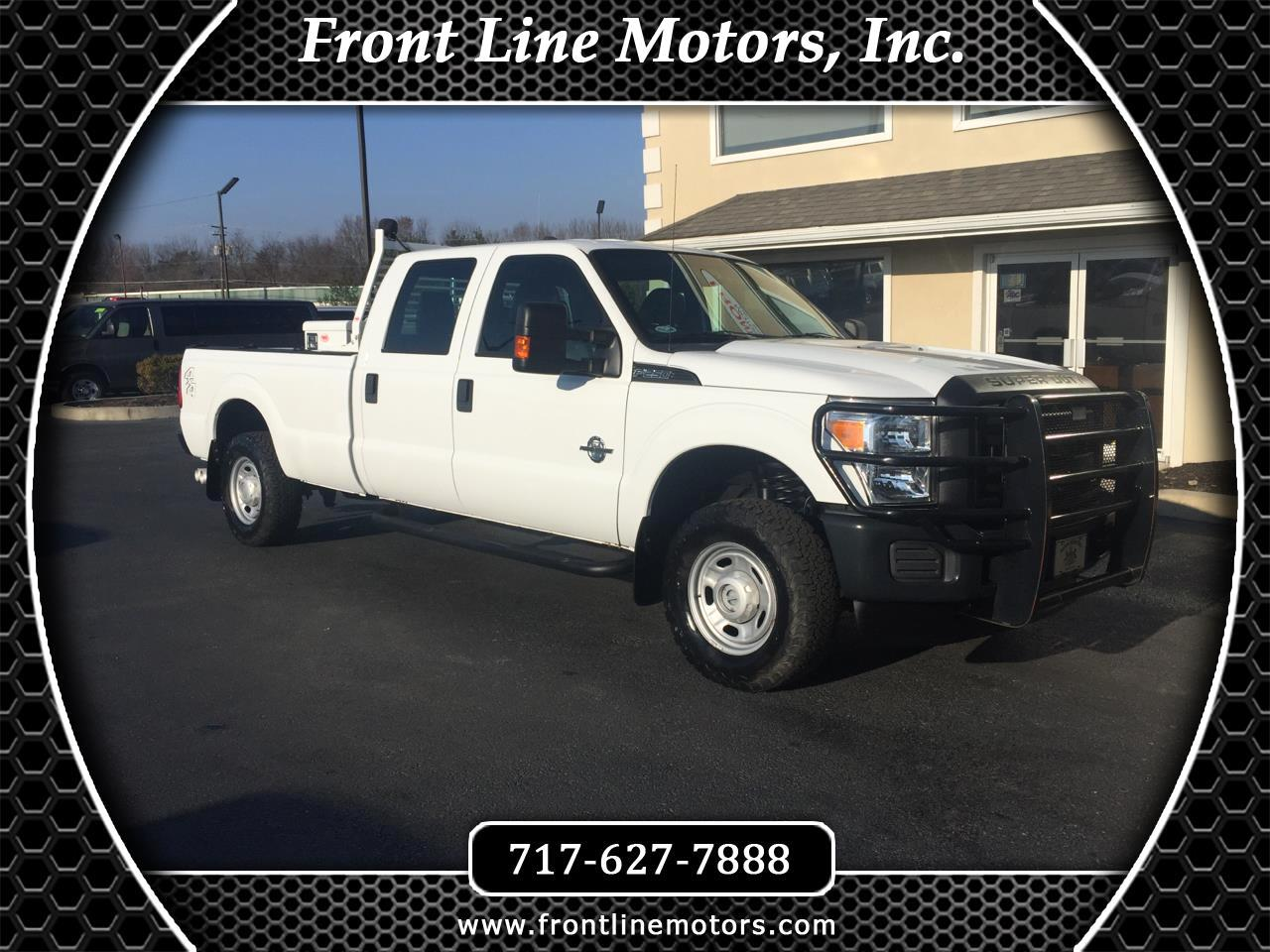 "2012 Ford Super Duty F-250 SRW 4WD Crew Cab 172"" XL"