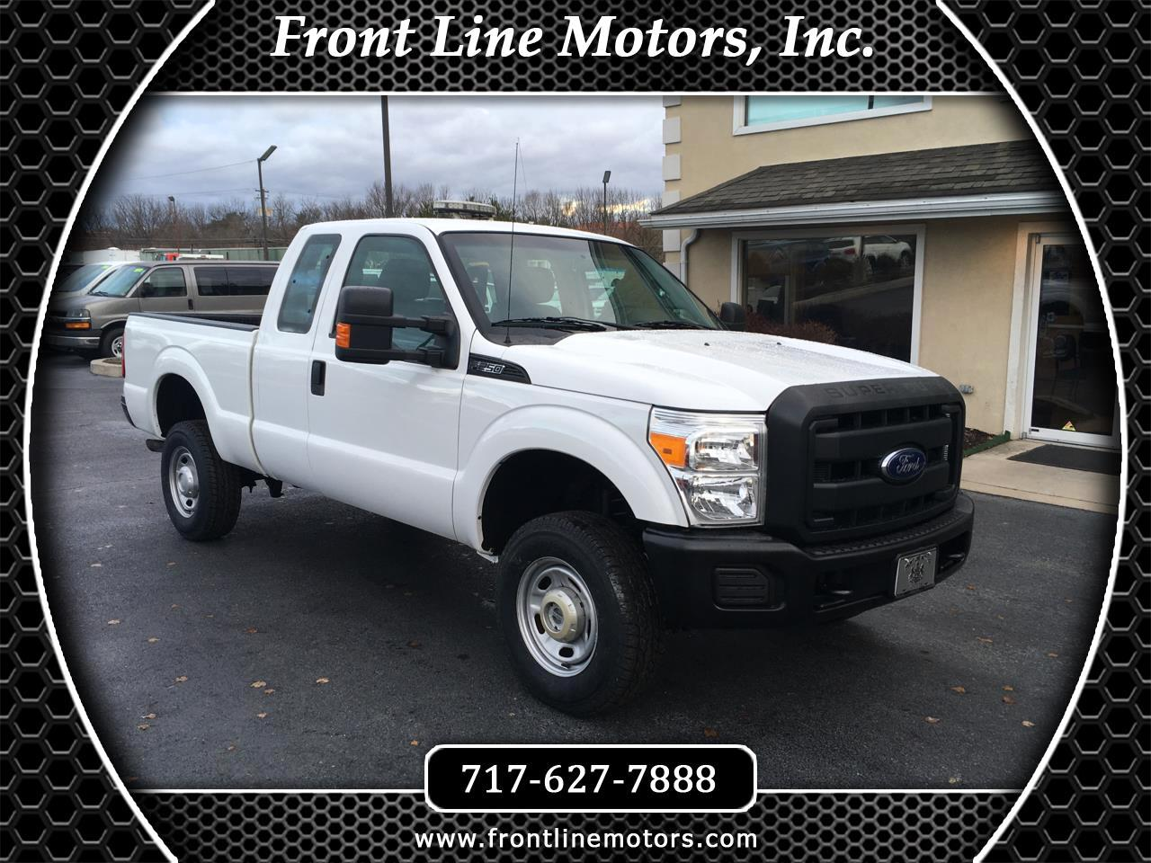 2015 Ford Super Duty F-250 SRW 4WD SuperCab 142