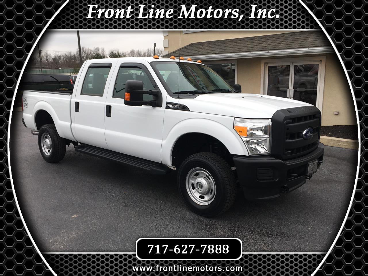 "2014 Ford Super Duty F-350 SRW 4WD Crew Cab 156"" XL"