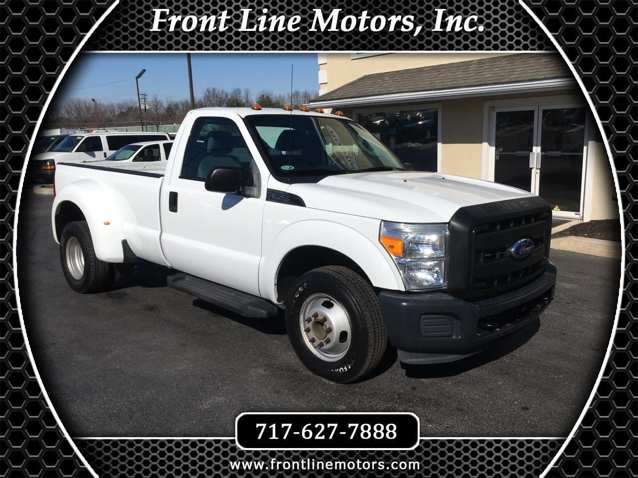 2011 Ford Super Duty F-350 DRW 2WD Reg Cab 137