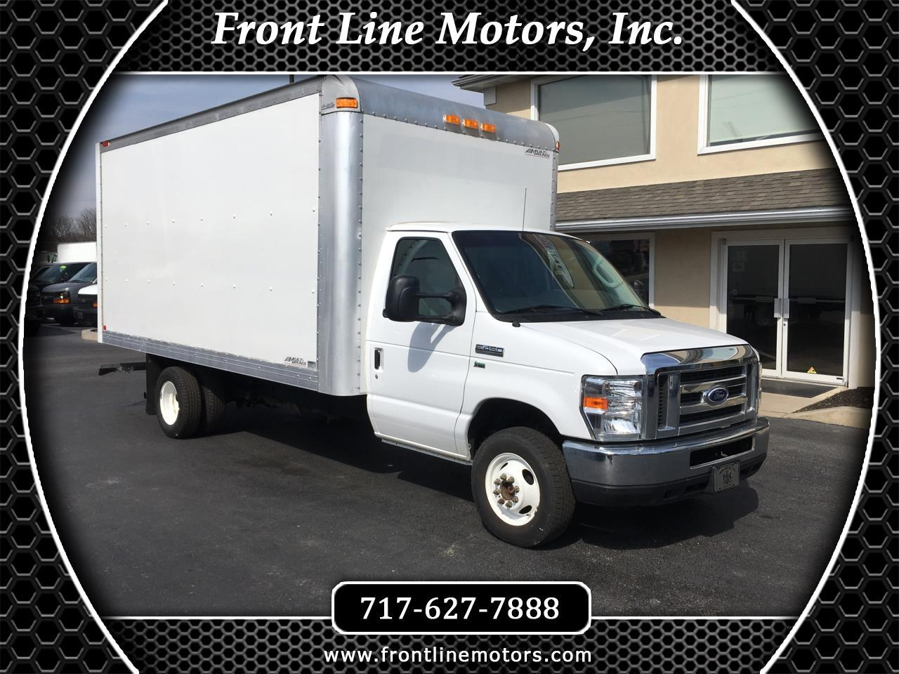 "2016 Ford Econoline Commercial Cutaway E-450 Super Duty 176"" DRW"