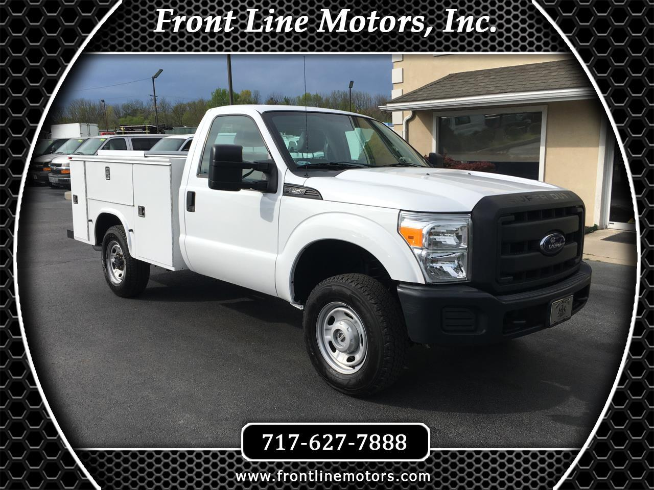 2013 Ford Super Duty F-250 SRW 4WD Reg Cab 137