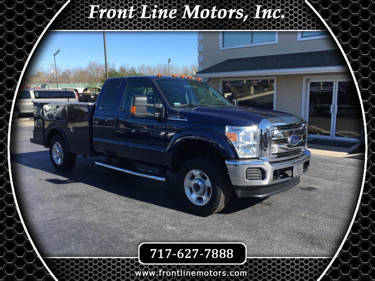 2012 Ford Super Duty F-250 SRW 2WD SuperCab 158