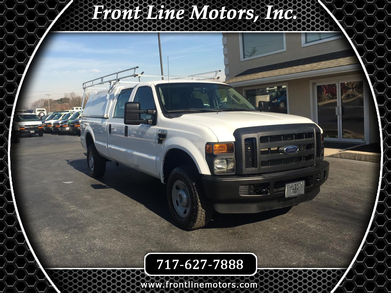 "2010 Ford Super Duty F-350 SRW 4WD Crew Cab 172"" XL"