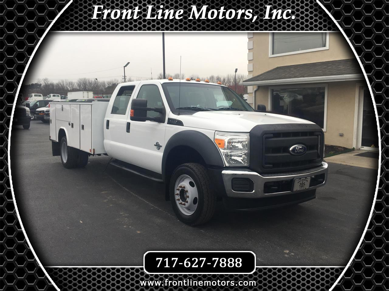 2012 Ford Super Duty F-550 DRW 4WD Crew Cab 200