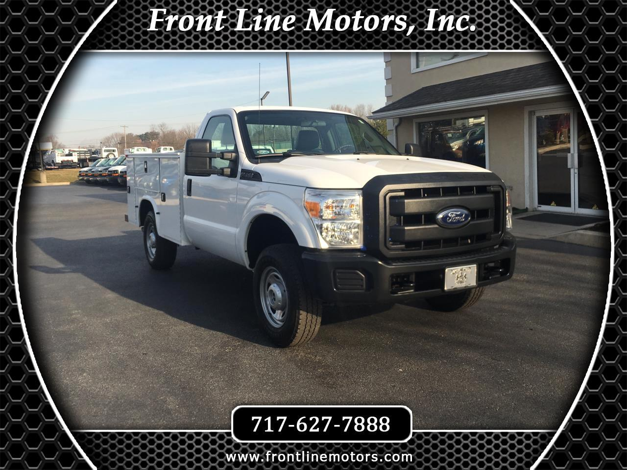 "2015 Ford Super Duty F-250 SRW 4WD Reg Cab 137"" XL"