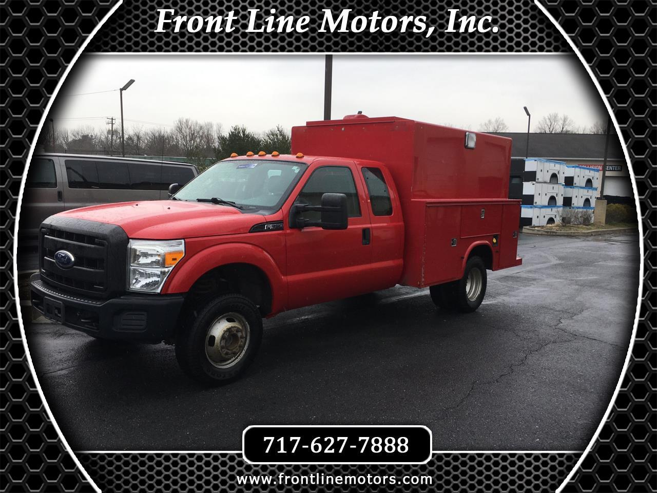 2011 Ford Super Duty F-350 DRW 4WD SuperCab 162