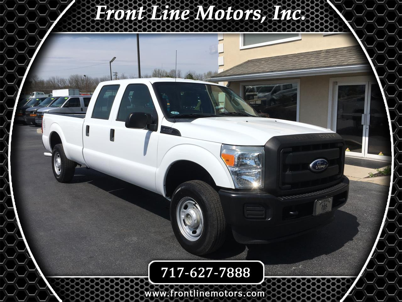 2011 Ford Super Duty F-250 SRW 4WD Crew Cab 172
