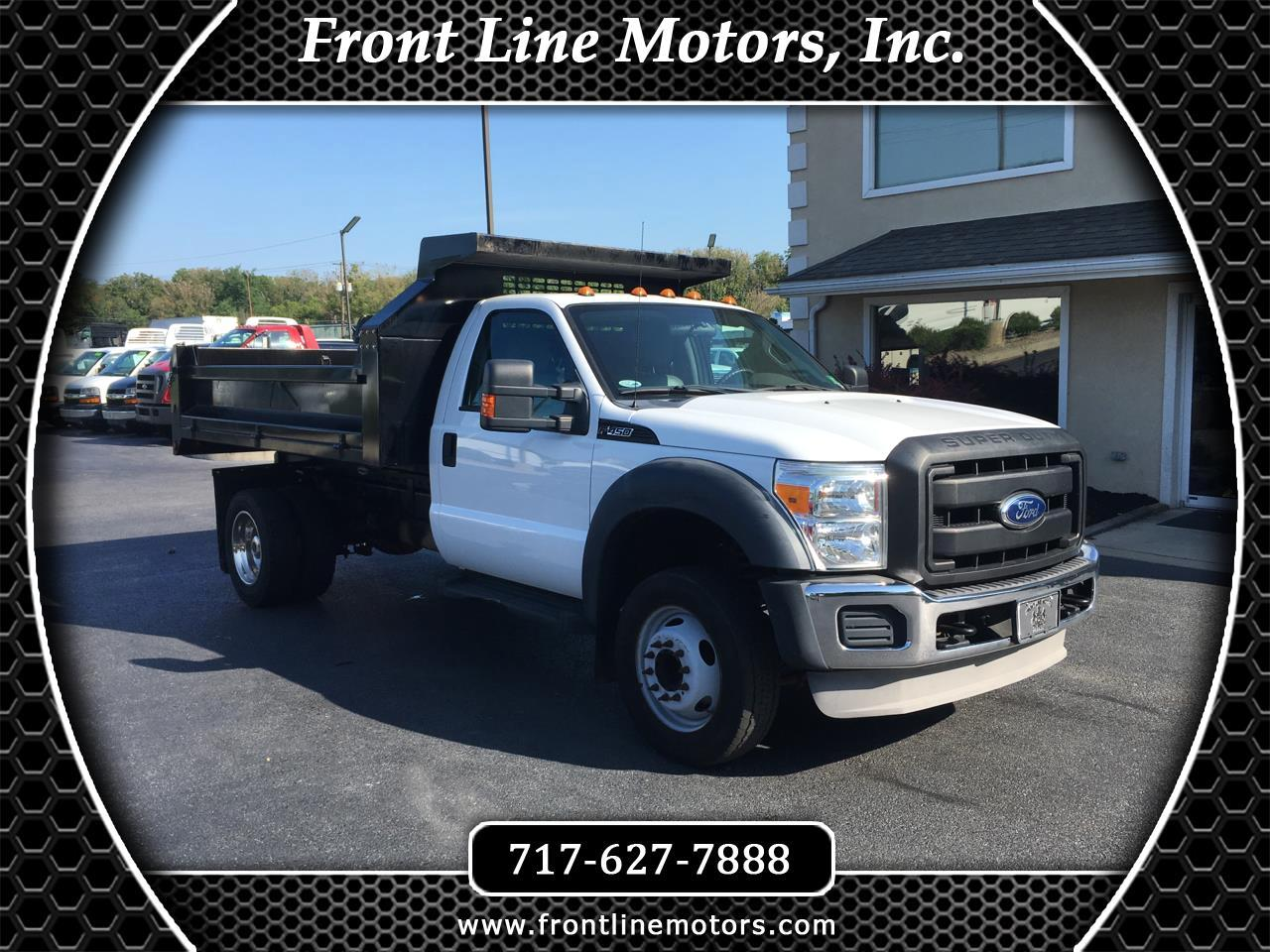 "2011 Ford Super Duty F-450 DRW 2WD Reg Cab 165"" WB 84"" CA XL"