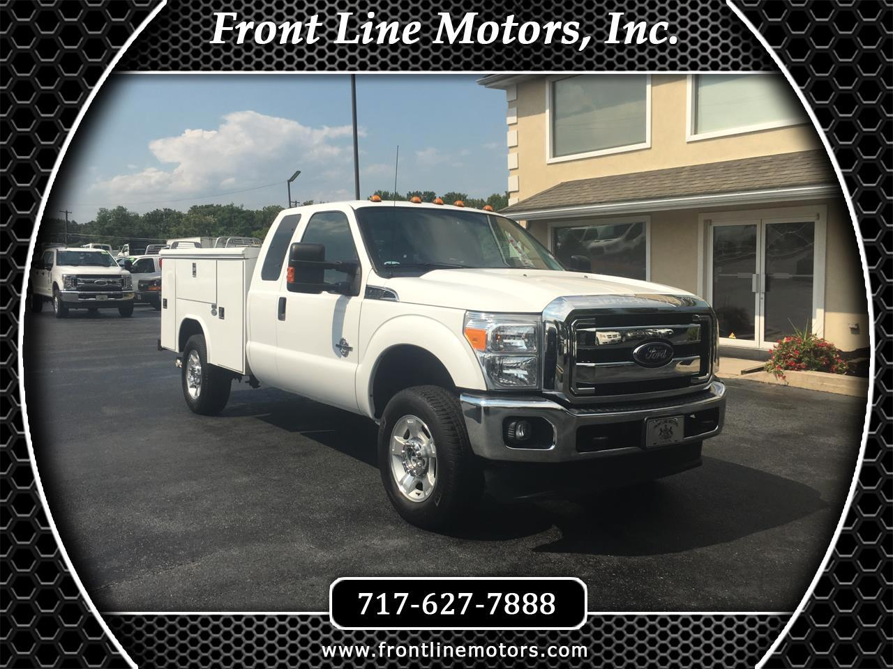 "2016 Ford Super Duty F-250 SRW 4WD SuperCab 158"" XLT"