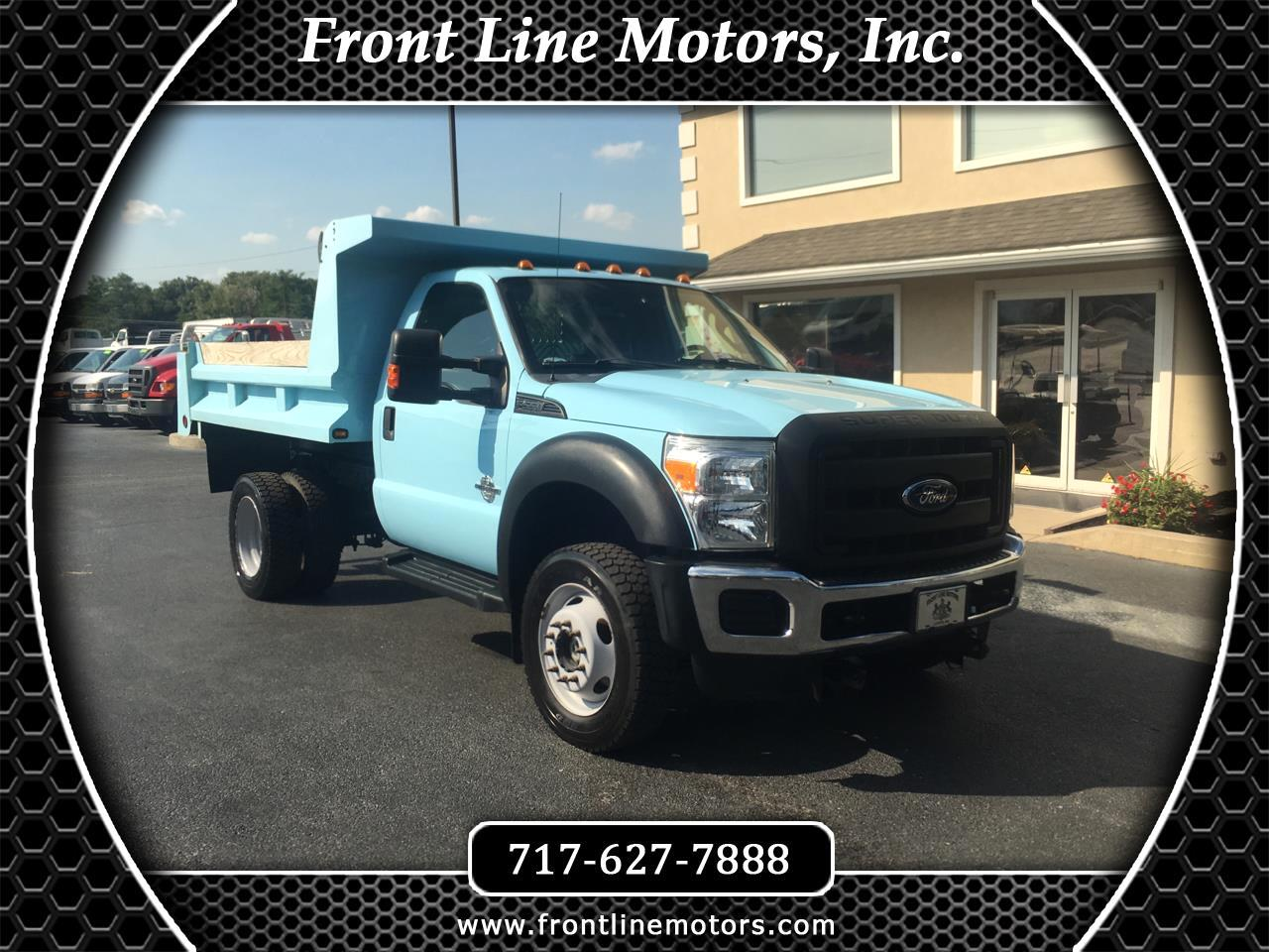"2013 Ford Super Duty F-550 DRW 4WD Reg Cab 141"" WB 60"" CA XL"