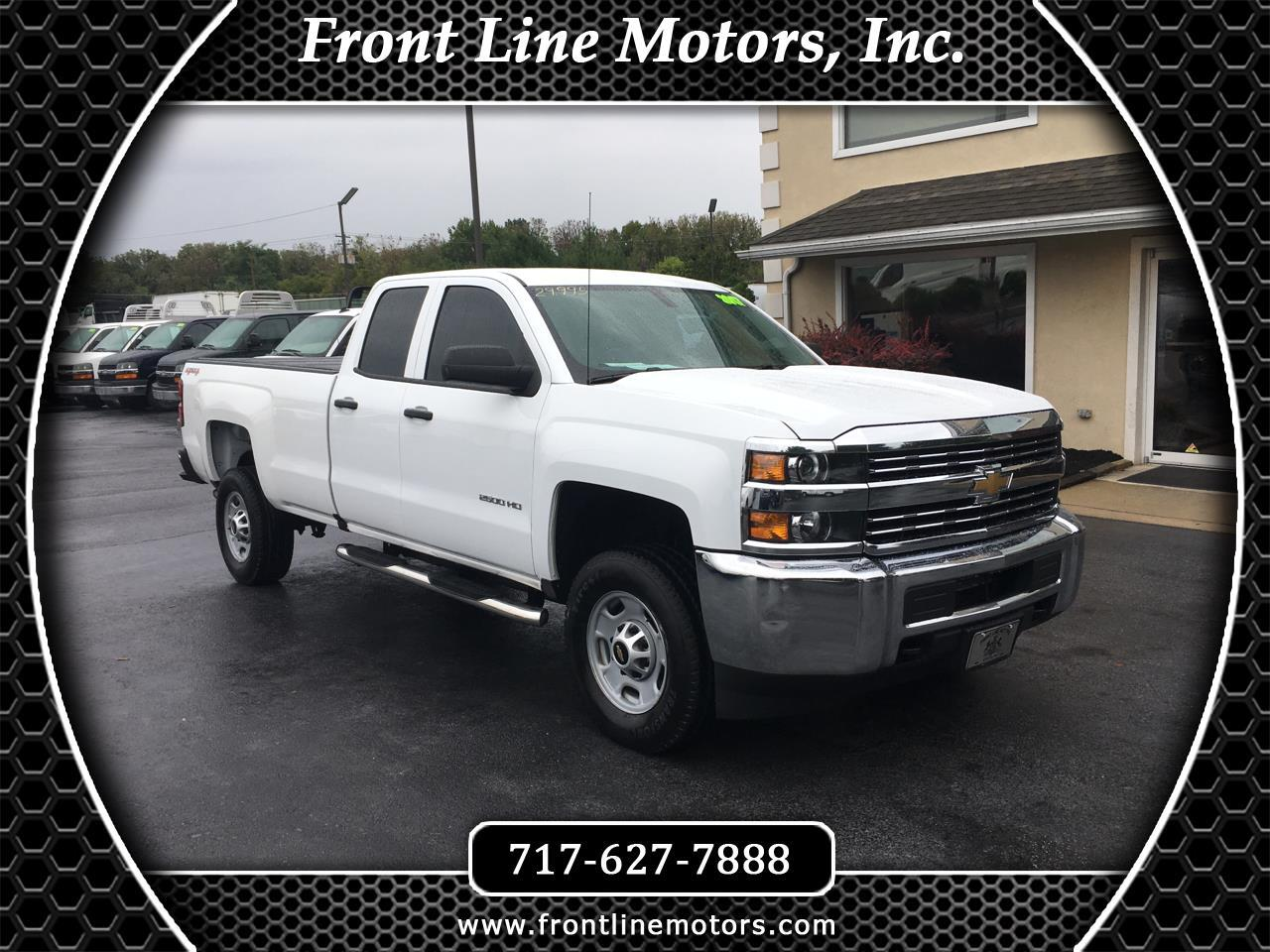 "2017 Chevrolet Silverado 2500HD 4WD Double Cab 158.1"" Work Truck"