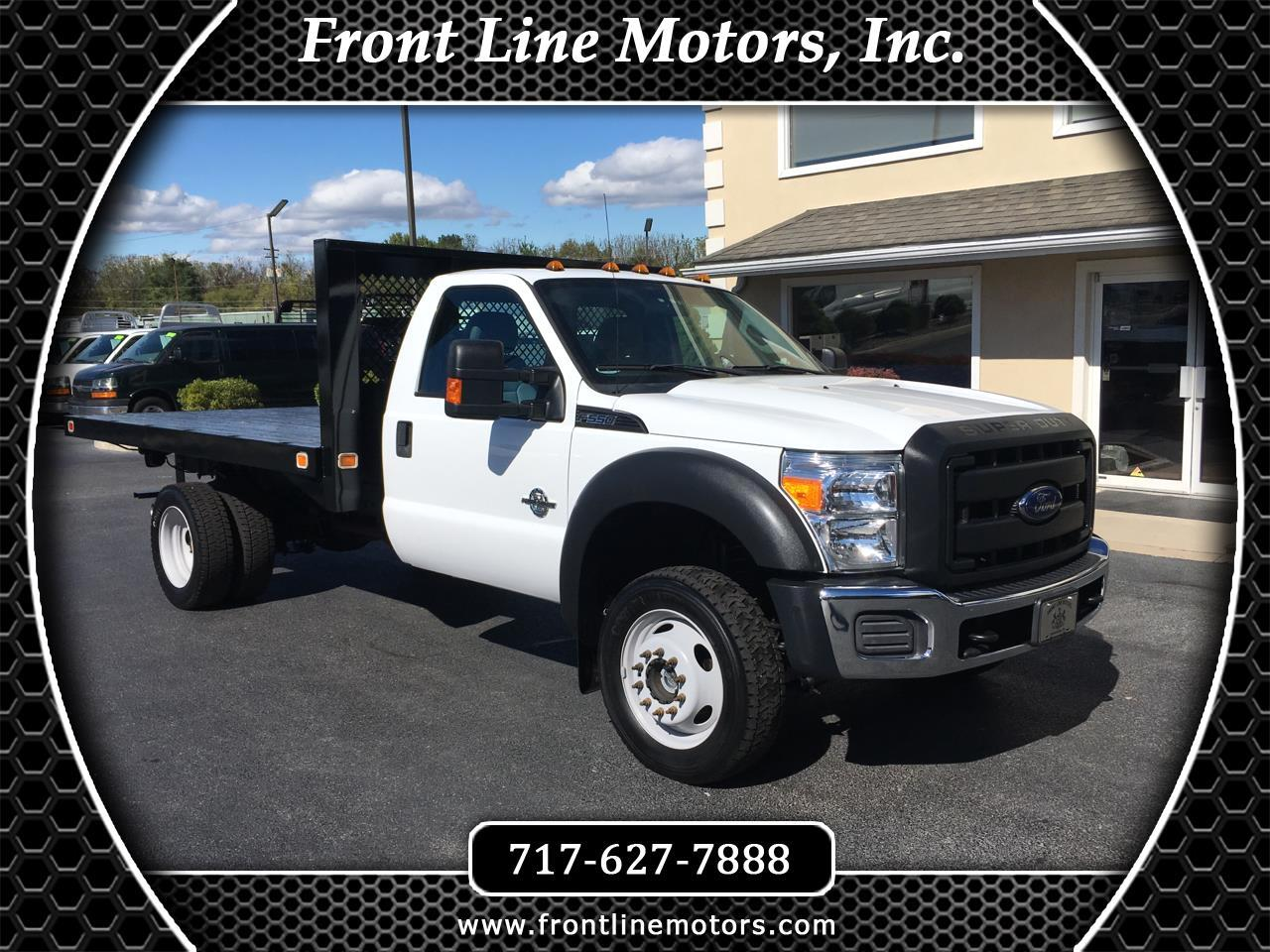 "2016 Ford Super Duty F-550 DRW 4WD Reg Cab 165"" WB 84"" CA XL"