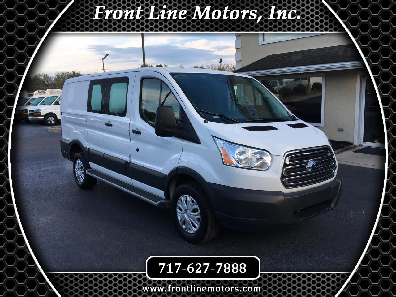 "Ford Transit Van T-250 130"" Low Rf 9000 GVWR Swing-Out RH Dr 2018"