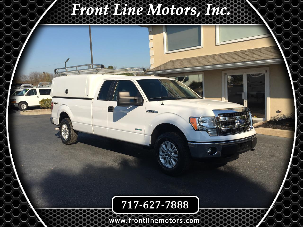 """Ford F-150 4WD SuperCab 163"""" XL w/HD Payload Pkg 2014"""