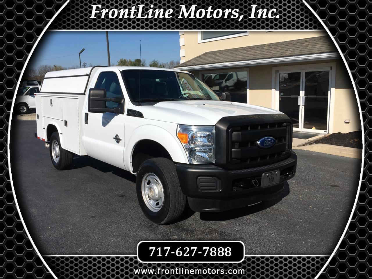 "Ford Super Duty F-250 SRW 4WD Reg Cab 137"" XL 2011"