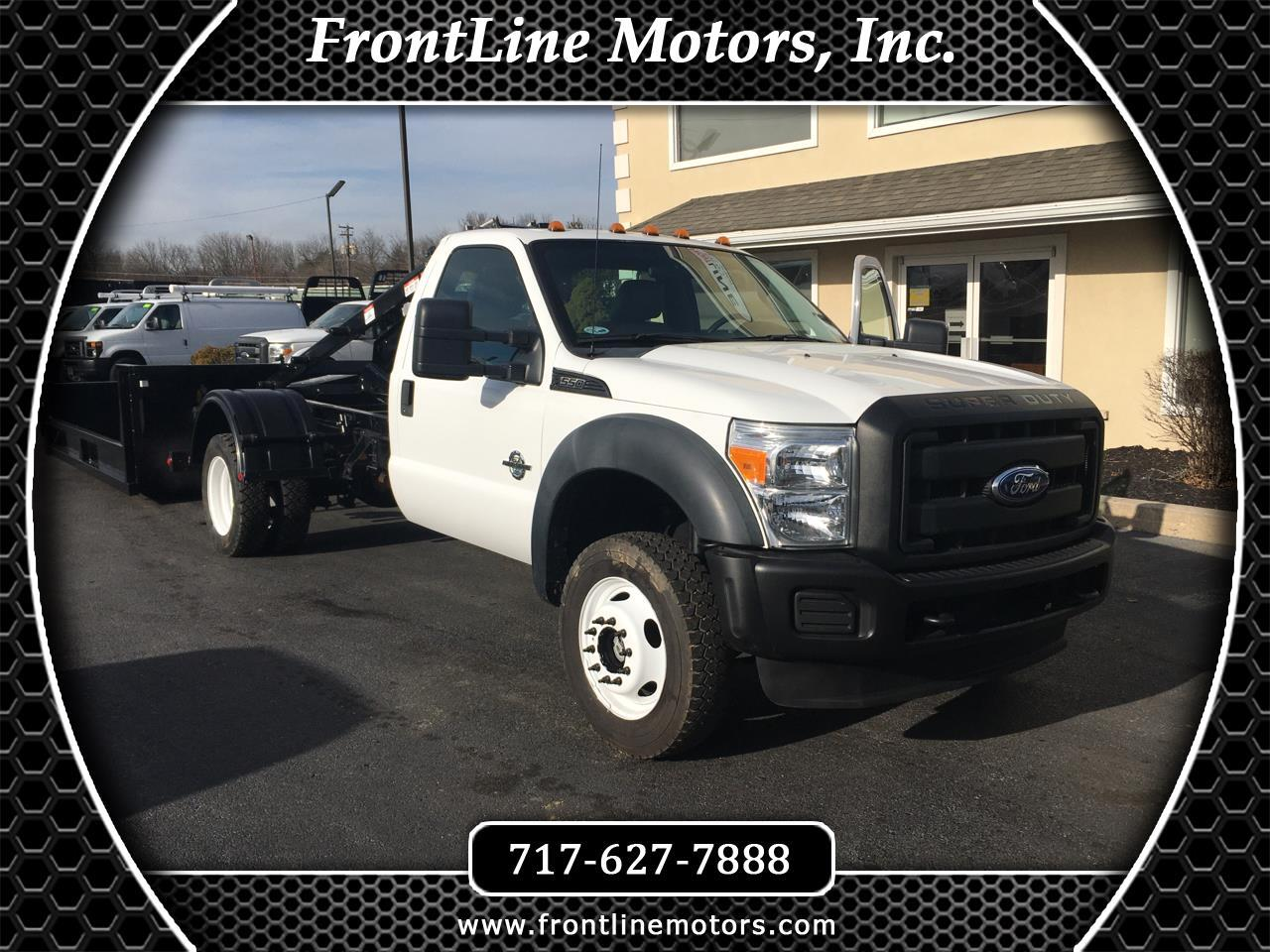 "Ford Super Duty F-550 DRW 4WD Reg Cab 165"" WB 84"" CA XL 2011"