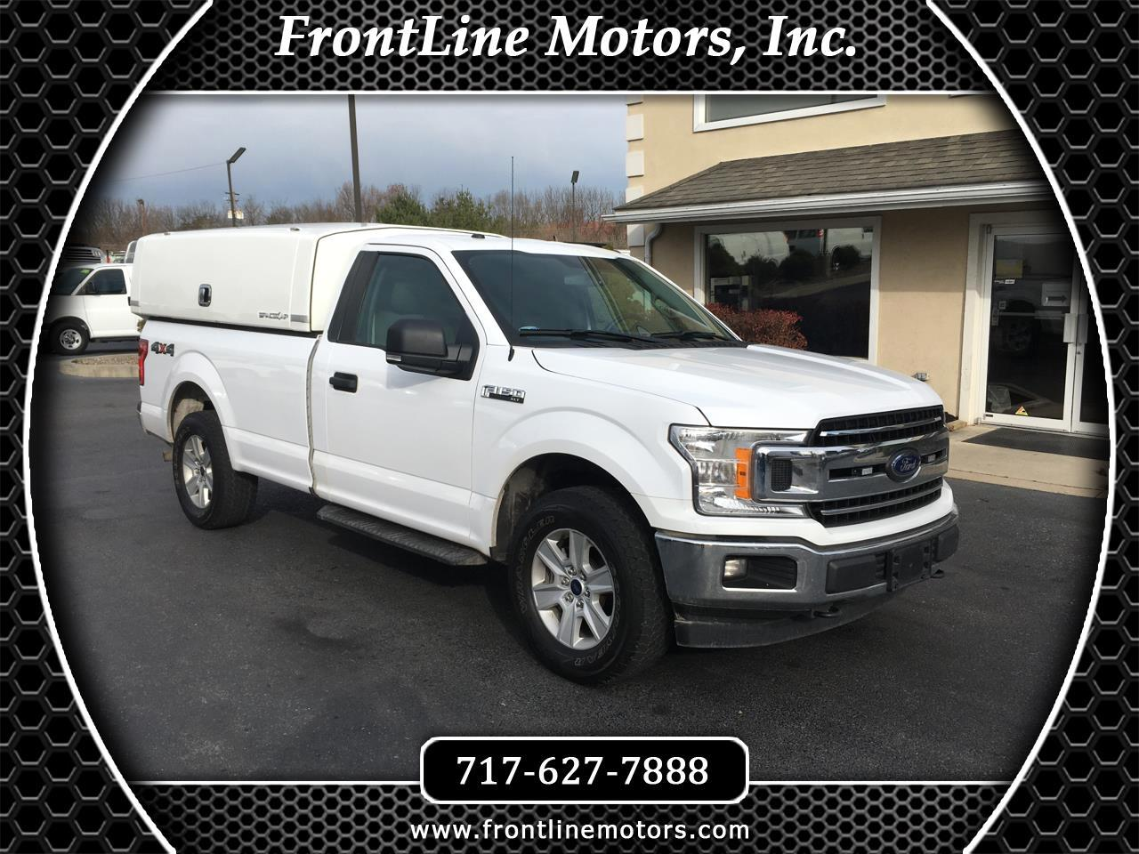 Ford F-150 XLT 4WD Reg Cab 8' Box 2018