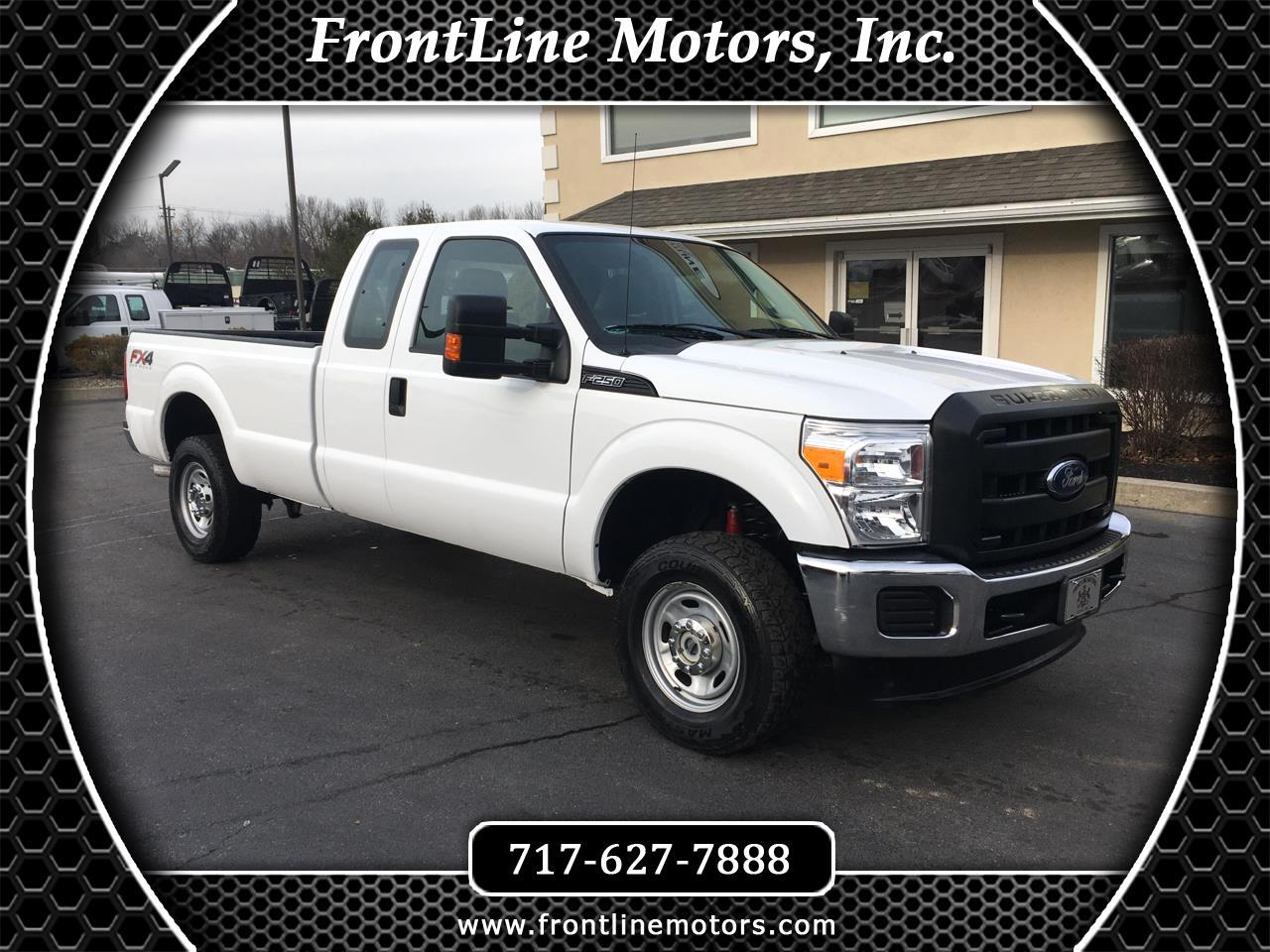 "Ford Super Duty F-250 SRW 4WD SuperCab 158"" XL 2016"