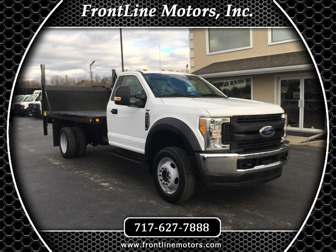 "Ford Super Duty F-450 DRW XL 4WD Reg Cab 169"" WB 84"" CA 2017"