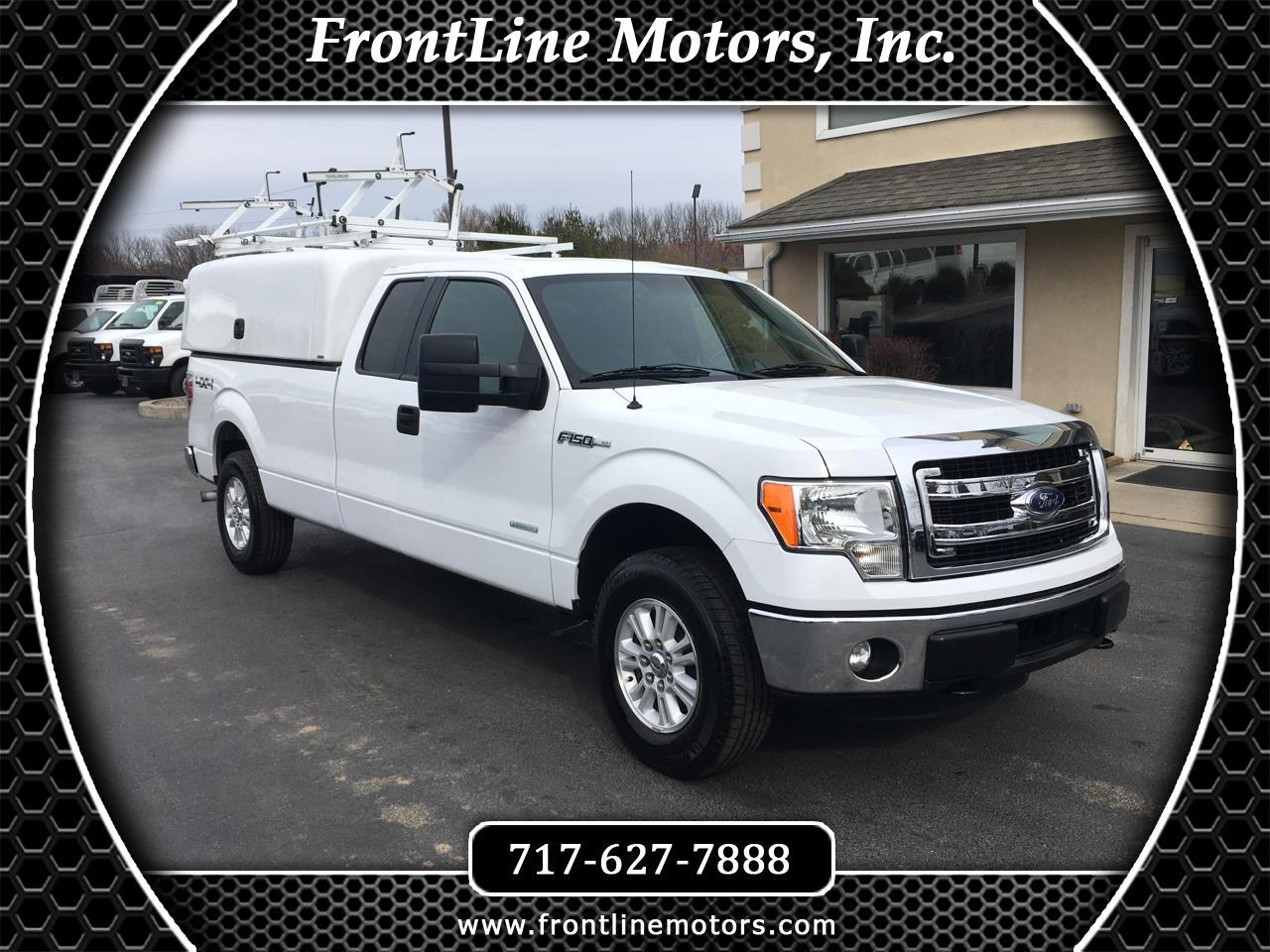 "Ford F-150 4WD SuperCab 163"" XLT w/HD Payload Pkg 2014"