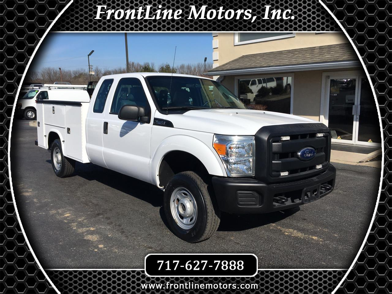 "Ford Super Duty F-250 SRW 4WD SuperCab 158"" XL 2013"