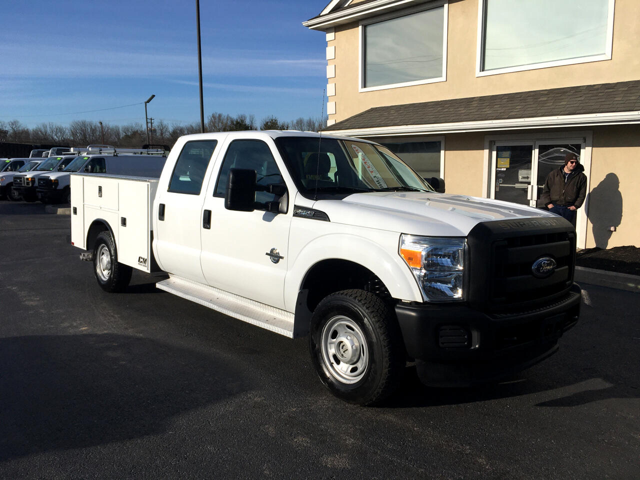 "Ford Super Duty F-250 SRW 4WD Crew Cab 172"" XL 2011"