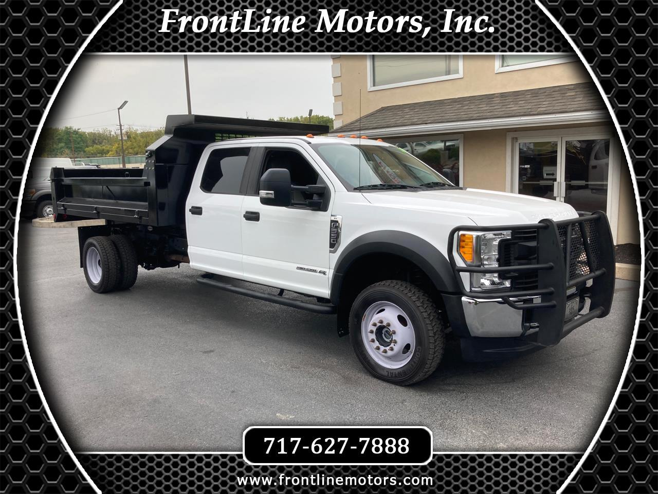 "Ford Super Duty F-550 DRW XL 4WD Crew Cab 203"" WB 84"" CA 2017"