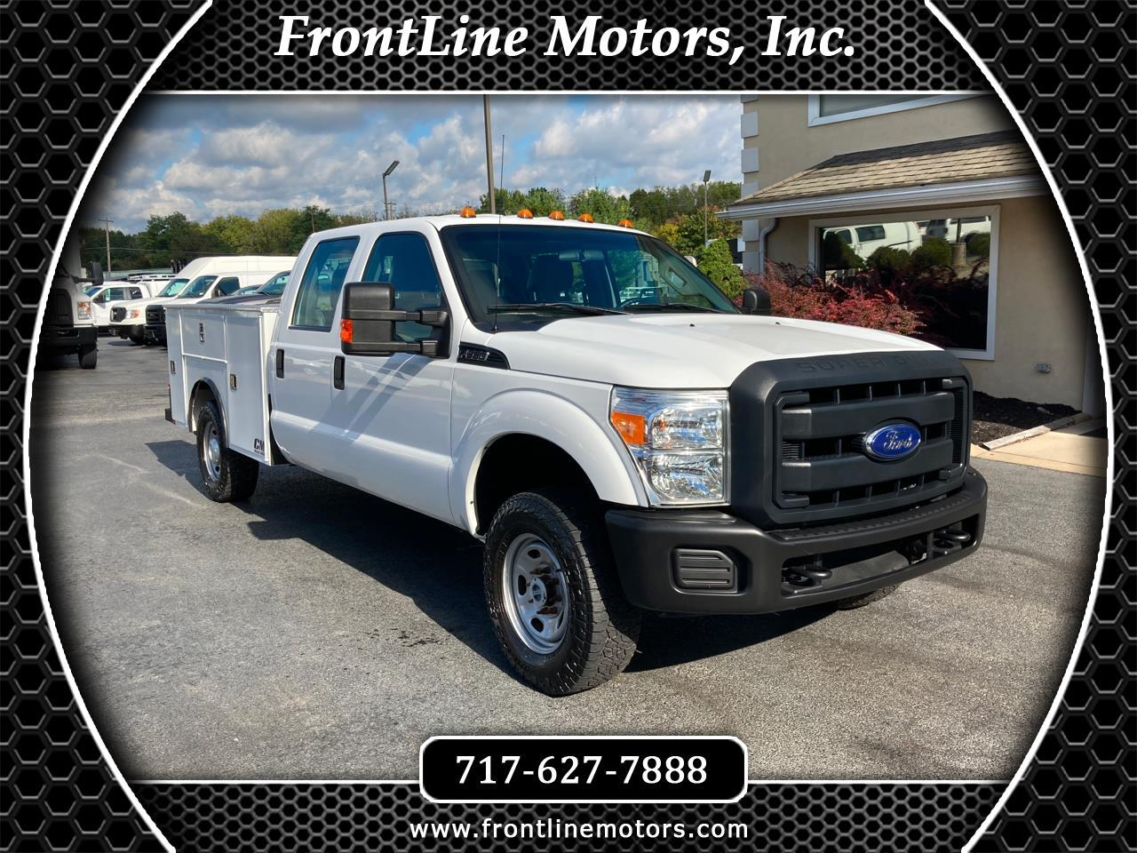 "Ford Super Duty F-250 SRW 4WD Crew Cab 172"" XL 2015"