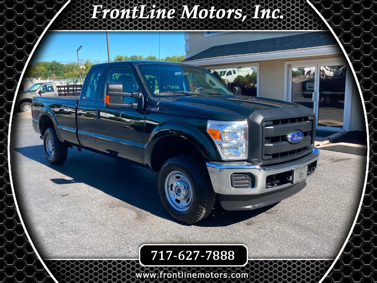 "Ford Super Duty F-250 SRW 4WD SuperCab 142"" XL 2016"