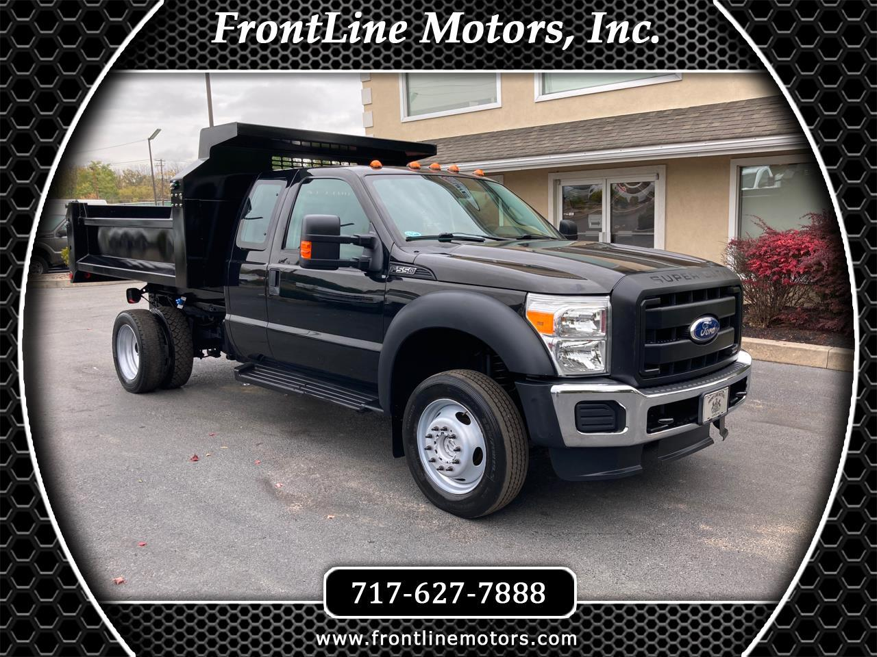"Ford Super Duty F-550 DRW 4WD SuperCab 162"" WB 60"" CA XL 2011"