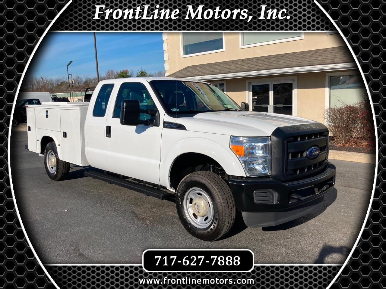 "Ford Super Duty F-250 SRW 4WD SuperCab 158"" XL 2015"