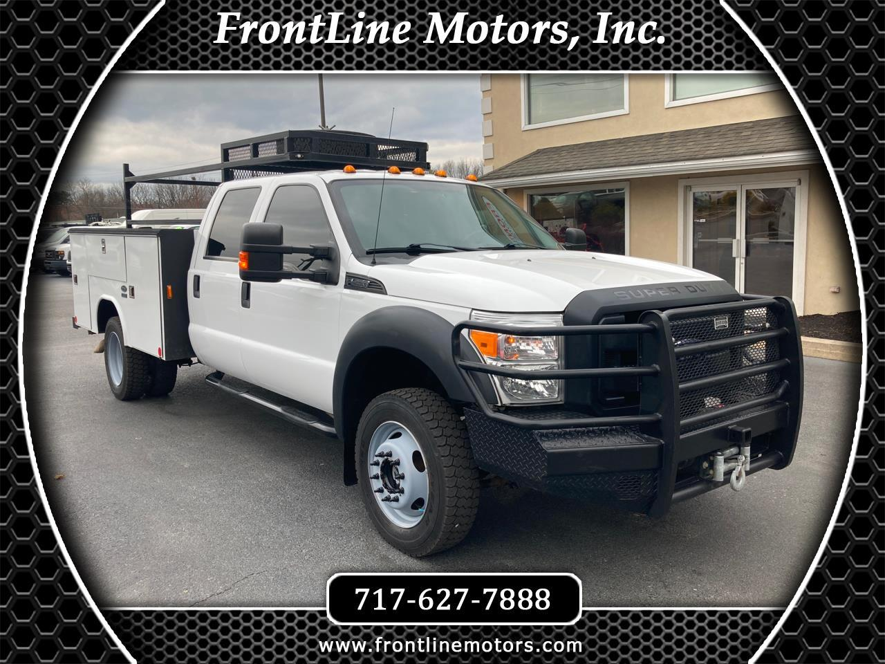 "Ford Super Duty F-450 DRW 4WD Crew Cab 176"" WB 60"" CA XL 2015"