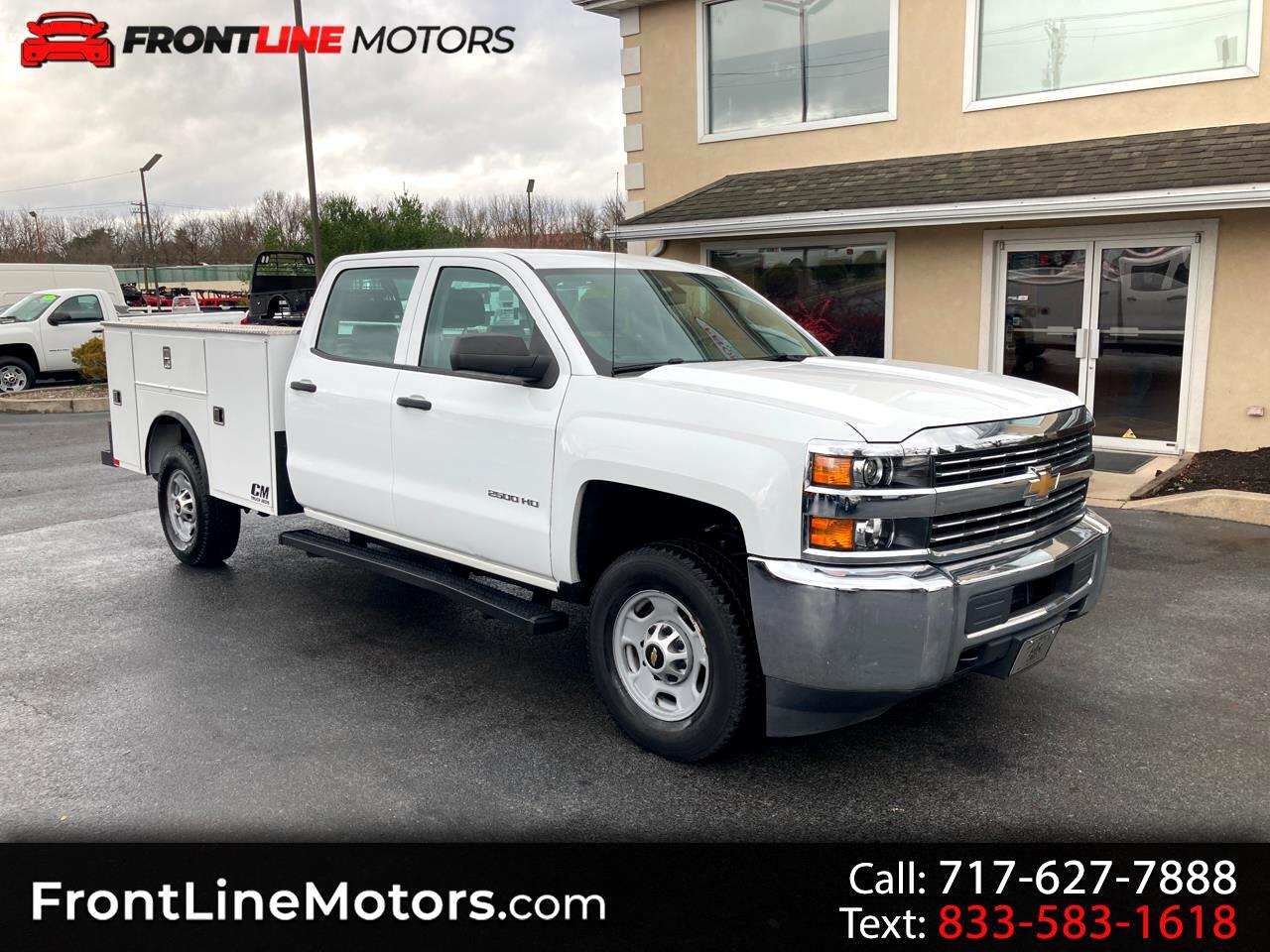 "Chevrolet Silverado 2500HD Built After Aug 14 2WD Crew Cab 167.7"" Work Truck 2015"