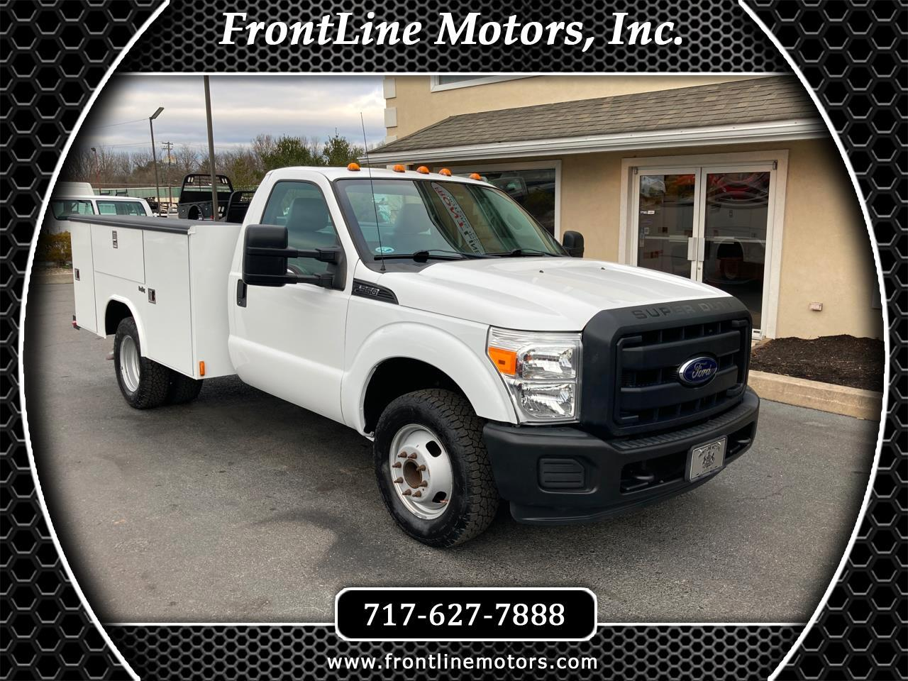 "Ford Super Duty F-350 DRW 2WD Reg Cab 141"" WB 60"" CA XL 2012"