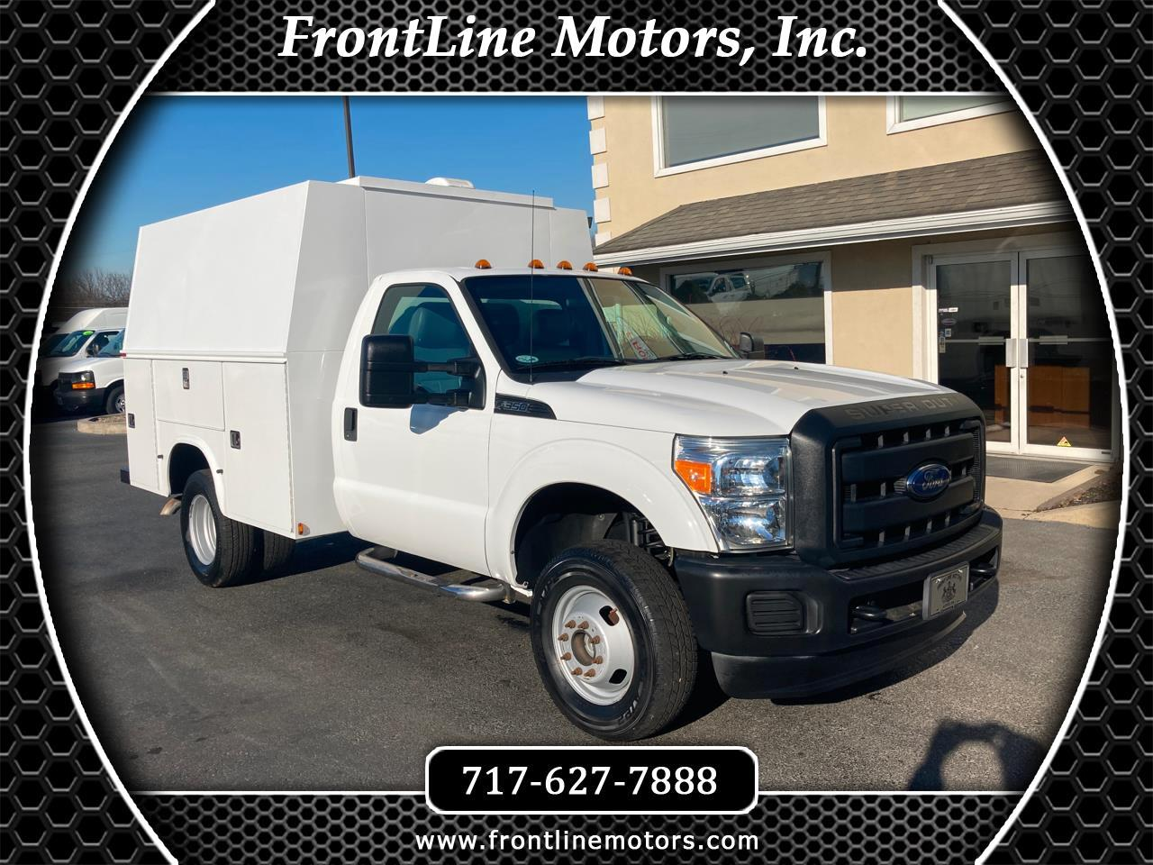 "Ford Super Duty F-350 DRW 4WD Reg Cab 141"" WB 60"" CA XL 2012"