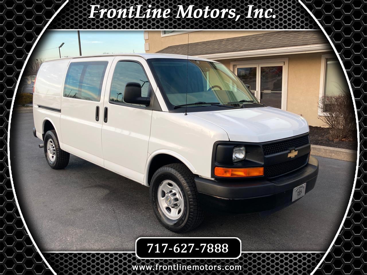 """Chevrolet Express Cargo Van RWD 3500 135"""" 2012"""